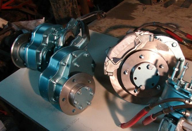 Тормоза дисковые ваз2121